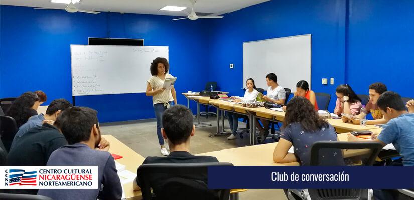 Club de Conversación - CCNN Nicaragua